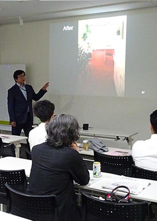 【SEMBAサロン90th レポート】『IFDA「デザイナーズショーハウス」で社会貢献 ~インテリアデザイナー&ランドスケープデザイナーのコラボによるデザインデコレーション~』(中尾晋也氏)